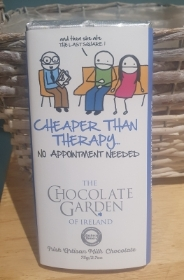 Cheaper Than Therapy Chocolate Bar